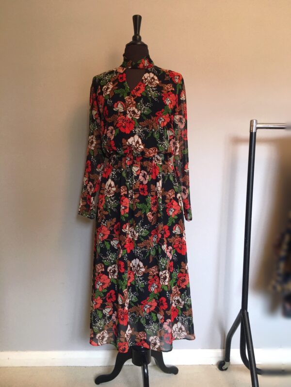 M&S floral maxi full length