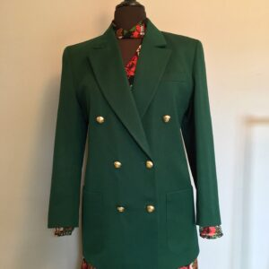 Vintage M&S green blazer